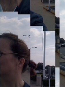 Sometimes my iphone camera stutters like this when I click the shutter at the same time as mail comes in.