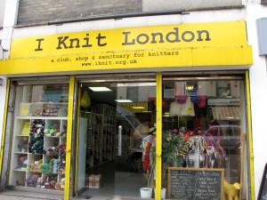 I Knit London Storefront