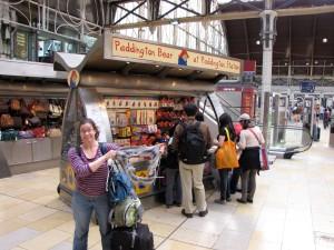 Scarf at Paddington Station