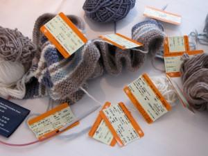 Yarn, Scarf, Tickets