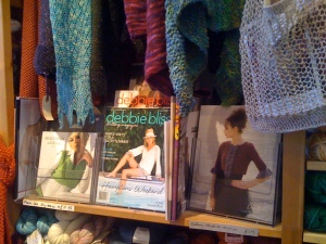 Scarves and Magazines at Port Meadow Designs