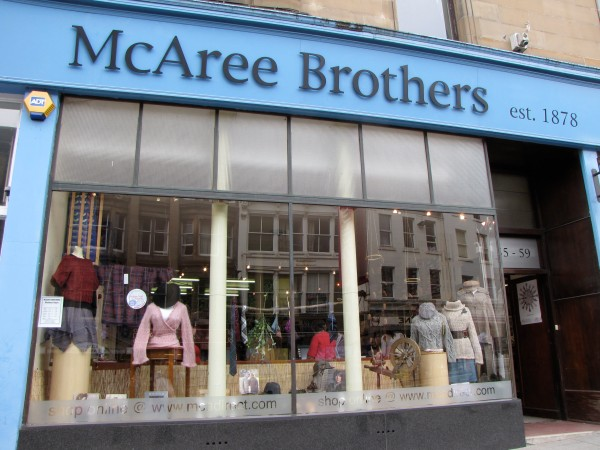 McAree Brothers: Knitter Heaven in Stirling