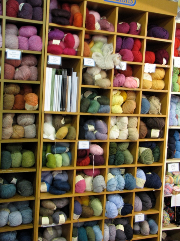 Yarn. Yarn, and More Yarn.