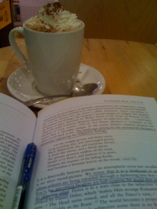 Reading Romanticism Over Chocolate