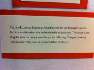Jane E. Lawton Memorial Award