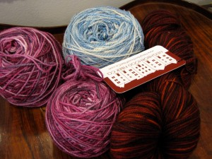 Neighborhood Fiber Co. sock yarn