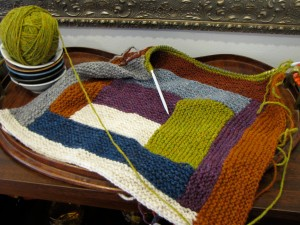 Shelter Log Cabin Blanket