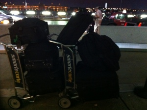 Checked Baggage, IAD - LHR