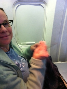 I Knit on Planes!