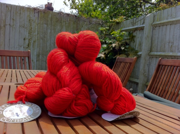 Red Yarn for Jane