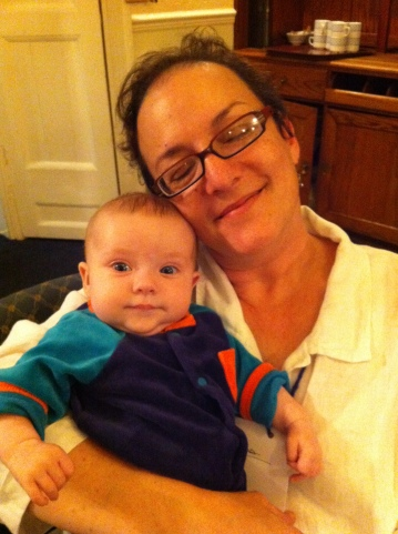 Alex with Aunt Brenda