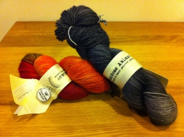 Countess Ablaze Yarn