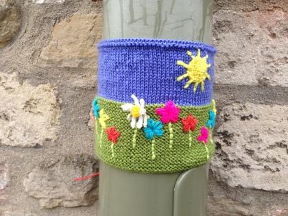 OUP Yarn Bomb