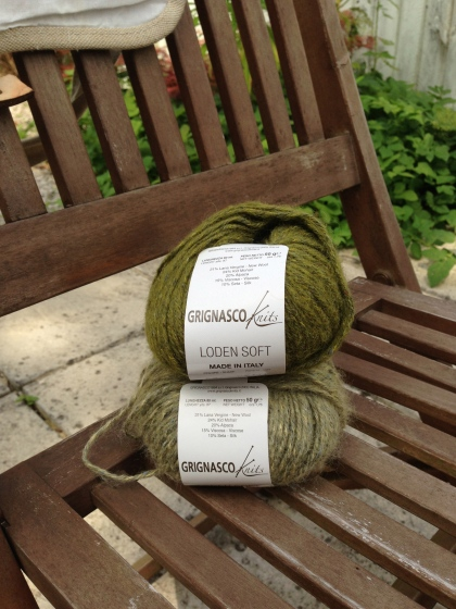 Lovely Green Italian Yarn