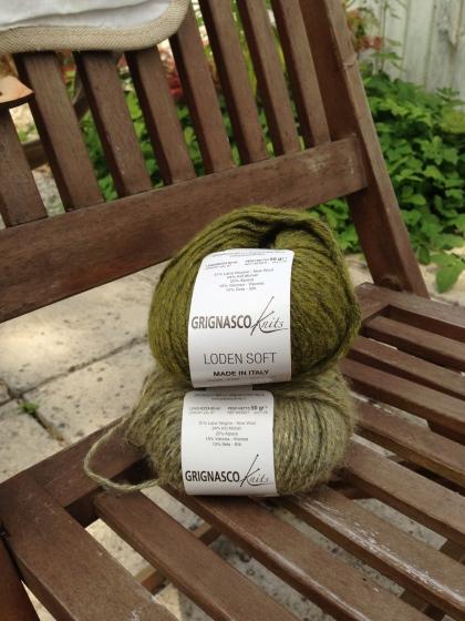 Lovely Green Italian Yarn
