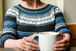 Cozy Sweater, Cozy Cup of Tea
