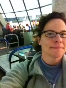 At Dulles Airport, September 2011