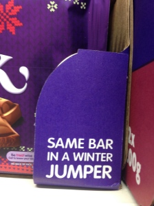 Same Bar in a Winter Jumper